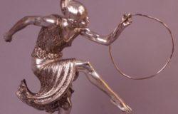Edouard Alliot : Danseuse au cerceau