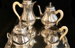 Service à café et thé en argent de Wolfers